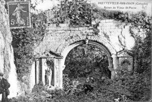 Ruines de l'église Saint-Pierre