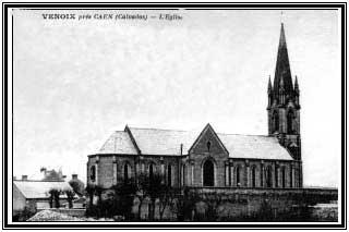 Vue extérieure de l'église Saint Gerbold