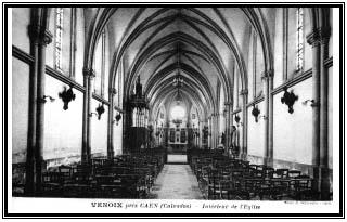 Église Saint-Gerbold : vue intérieure