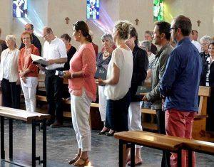 remisede l'évangile dans l'assemblée