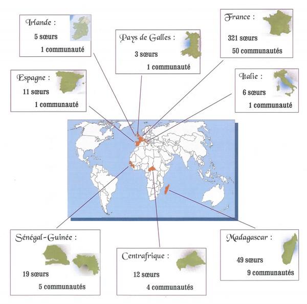 répartition mondiale SME