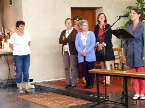 équipe des catéchistes