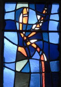 Vitraux de l'église Notre-Dame à Bretteville