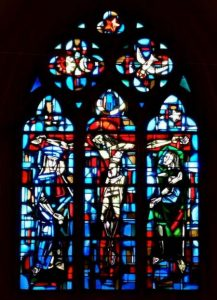 vitrail chœur Louvigny