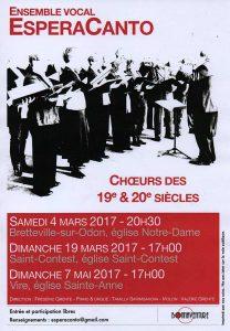 [4.03.2017] Ensemble Vocal EsperaCanto