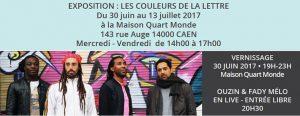 [30.6.17] Les couleurs de la lettre – Expo Quart-Monde