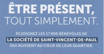 Conférence Saint-Vincent-de-Paul : des actions multiples…