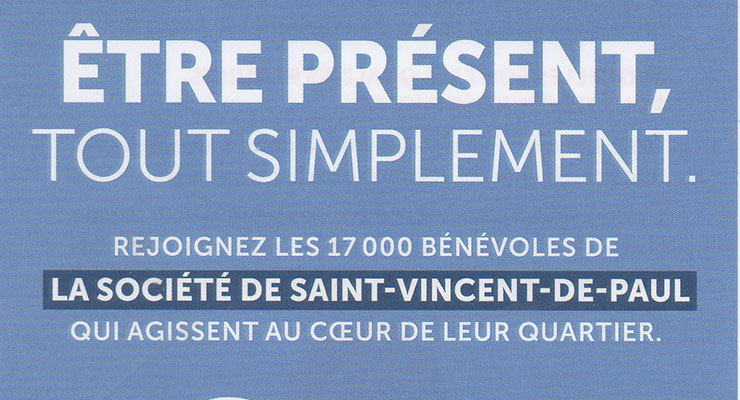 Conférence Saint-Vincent-de-Paul : des actions multiples…