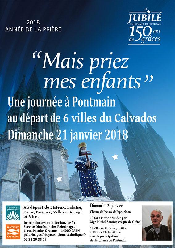 [21.1.18] Une journée de pèlerinage à Pontmain