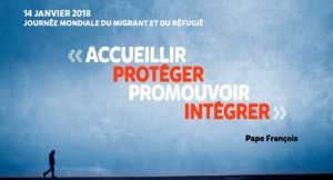 [14.01.18] Journée Mondiale du Migrant et du Réfugié