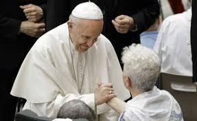 pape François et les malades