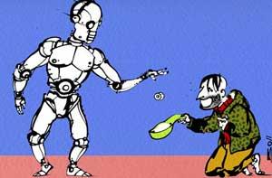 robot et emplois
