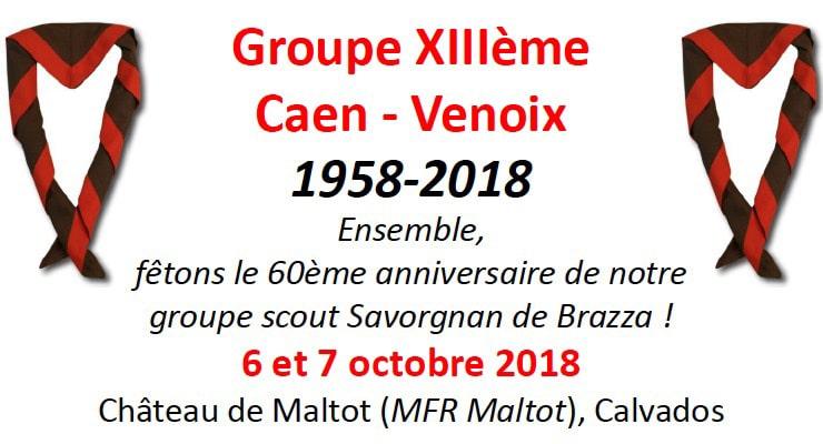 [6-7.10.18] le groupe Scouts et Guides de France de Caen-Venoix fête ses 60 ans !