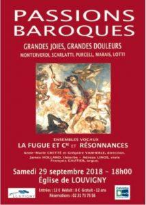 [29.9.18] La Fugue et Cie en concert à Louvigny