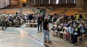 journées mouvement chrétien des retraités à Lourdes 2018