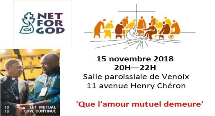 [15.11.18] Soirée prière avec le Chemin Neuf