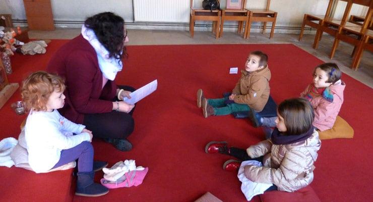 Enfants 3 à 6 ans : un éveil à la foi