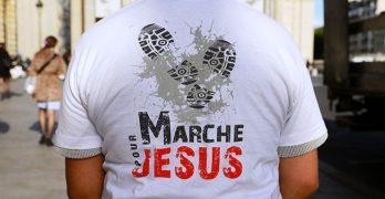 marche avec Jésus