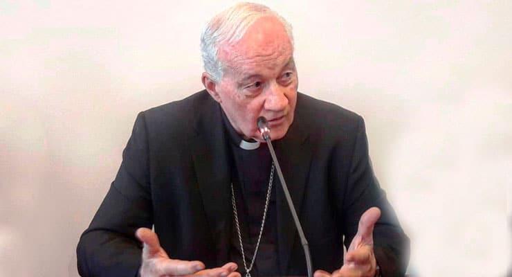 [5.6.19] Conférence sur la paix par le cardinal Marc Ouellet