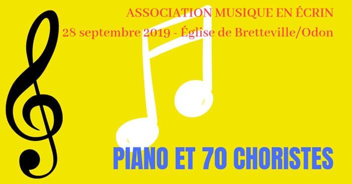 [28.9.19] Musique en écrin : piano et choristes