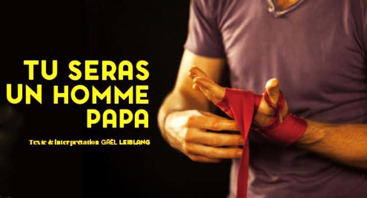 [1.10.19] Tu seras un homme papa – Soins palliatifs pédiatriques au théâtre