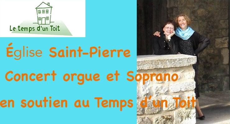 [17.11.19] Concert orgue et soprano pour Le Temps d'Un Toit.