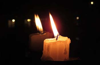 bougies fenetre