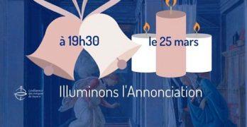 covid19-illuminer annonciation