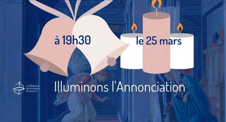 [25.3.20] COVID19-Annonciation : l'appel de nos clochers
