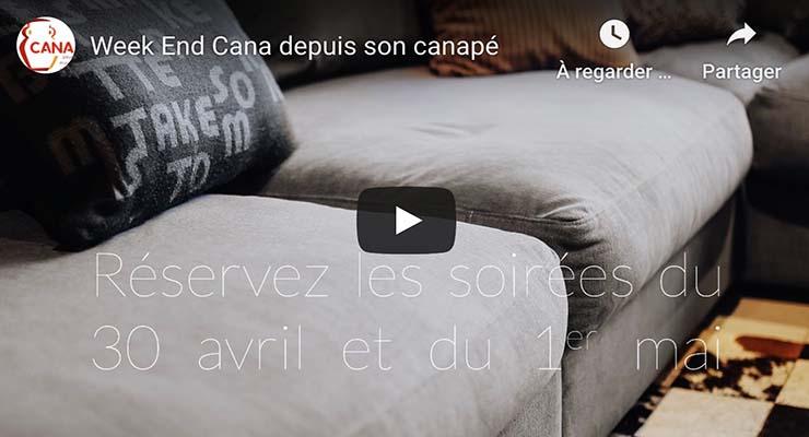 [30.4.20] Avec CANA, chemin de couple depuis son canapé