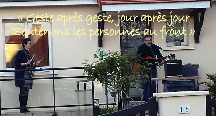 Covid-19 et confinement : quand la rue des Cytises orchestre le «la» de reconnaissance !