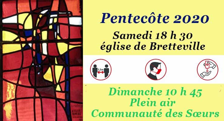 Messes de la Pentecôte : nos célébrations !