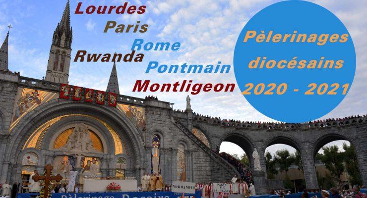 Pèlerinages diocésains: Lourdes, Rome et autres destinations