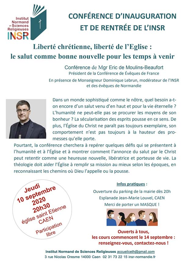 conference Mgr Eric de Moulins Beaufort
