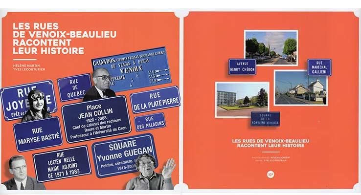 Les rues de Venoix-Beaulieu à Caen