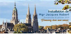 installation de Mgr Jacques Habert
