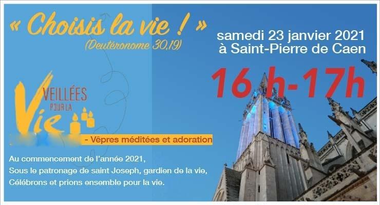 [23.1.21] Vêpres «Veillée pour la vie» – à l'église St-Pierre