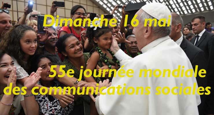[16.5.21] 55e journée mondiale des communications sociales