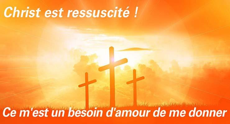 La fête de Pâques dans la Résurrection du Christ !