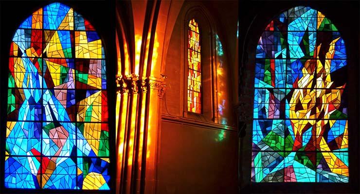 Église Saint-Gerbold à Venoix – Vitraux