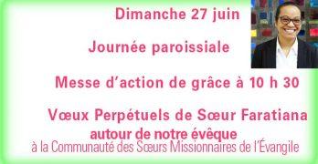 journée paroissiale 27 juin 2021