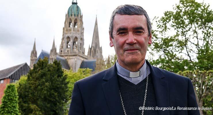 [8_18.6.21]Visite pastorale de Mgr Habert dans l'Agglomération Caennaise