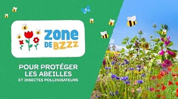 Zones de Bzzz pour protéger les abeilles