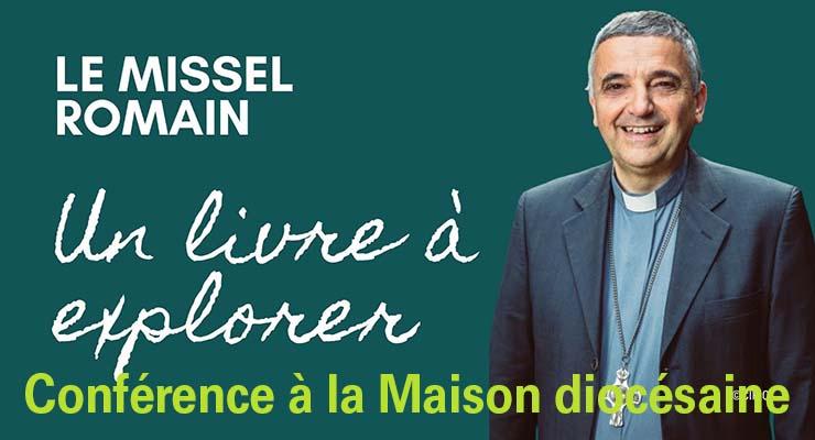 [14.9.21] Conférence de Mgr Lebrun – Missel romain : une nouvelle traduction