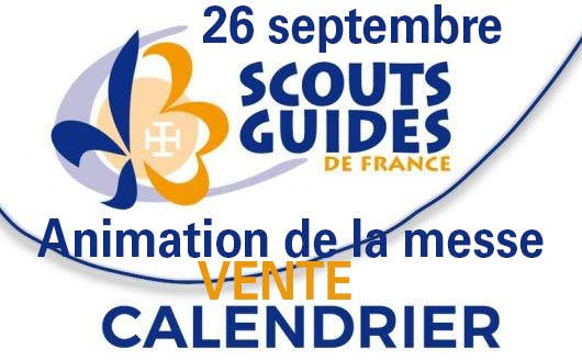 [26.9.21] Scouts et Guides : vente des calendriers 2022